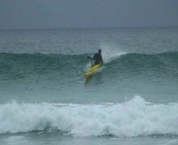 Storm Gathering Surf at Tolsta