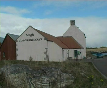 English documentary about Taigh Chearsabhagh Museum and Art Centre