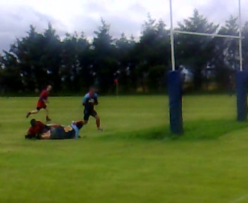 Stornoway Rugby Try