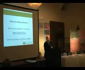 Future of Crofting Conference 2010 (Video 7) - Close of the Conference (5mins)